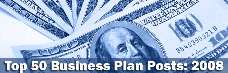 Top 50 Business Plan Posts of 2008